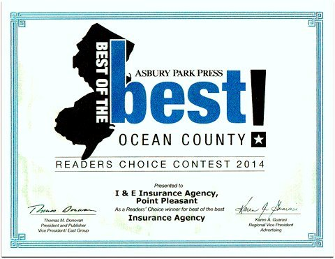 best of the best award in ocean county new jersey